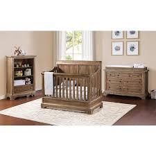 bertini pembrooke 4 in 1 convertible crib natural rustic rustic boy nursery boy nursery furniture