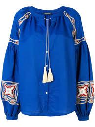<b>Wandering</b> вышитая <b>блузка</b> с кистями на завязках WMS18293 ...