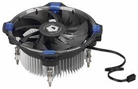 <b>Кулер</b> для процессора <b>ID</b>-<b>COOLING</b> DK-03 Halo <b>Intel</b> Blue ...