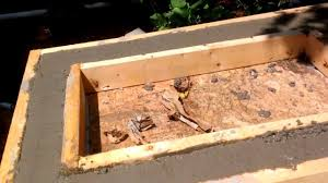 Countertop For Outdoor Kitchen Outdoor Kitchen Counter Construction Youtube
