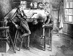dickensian diagnoses com an illustration by frederick barnard from charles dickens s novel david copperfield 1849 50