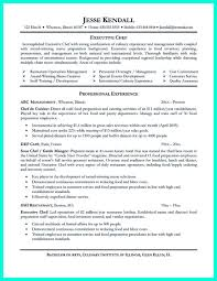 chef resume example sample cv trainee  seangarrette coexecutive chef resume objective and chef resume templates microsoft word   chef resume example