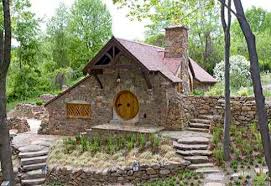 Hobbit House Designs   Inspiring Habitats for Hobbits   and Humans Designed by Archer  amp  Buchanan Architecture to house a collection of Tolkien memora  bilia for an avid enthusiast  the square foot Hobbit House provides