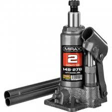 <b>Домкрат</b> гидравлический бутылочный <b>MIRAX 43260-2</b> | ВремяТВ