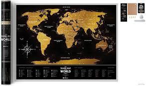 """<b>Скретч</b>-<b>карта</b> """"Black <b>World</b>"""" (80х60 см) : купить в интернет ..."""