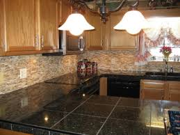 backsplash ideas oak cabinets cabin hall