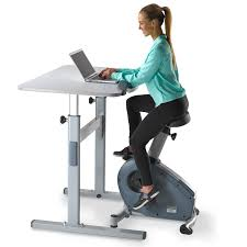 new lifespan stationary bicycle desk bike office chair