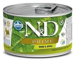 <b>Консервы Farmina N&D</b> Prime Dog <b>Adult</b> Mini Boar & Apple купить ...