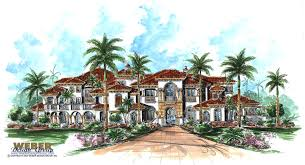 Tuscan Style House Plans  Floor Plans  Home Plans Plan   Weber    Bellagio House Plan Tuscan Style House Plans