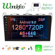 "<b>10.1</b>"" <b>IPS</b> screen DSP 4G 64G <b>Android 9.0</b> Car GPS For Mazda 6 ..."
