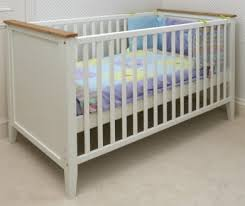 white painted baby cot bed teddington nursery furniture cot and junior bed 140 x 70cms baby nursery furniture teddington collection