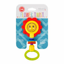 <b>Музыкальный брелок</b> Happy <b>Baby</b> FLOWER TWIST 330370 ...