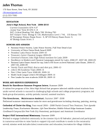 sample high school student resume for college application sample resume for high school students for college admission sample