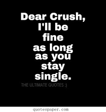 Dear Crush Quotes. QuotesGram via Relatably.com