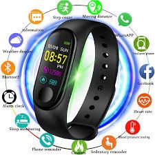 2019 New <b>smart sports watch</b> Women <b>Smart Watch Men</b> Heart Rate ...