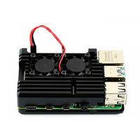 «Алюминиевый <b>корпус</b> для <b>Raspberry Pi 4</b> с двумя ...