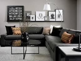 black living rooms