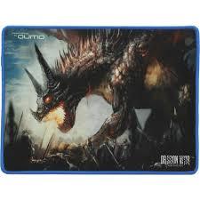 Игровой <b>коврик</b> для мыши <b>Qumo</b> Dragon War <b>Daemon</b> Hunt ...