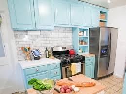 Painted Kitchen Repainting Kitchen Cabinets Pictures Options Tips Ideas Hgtv