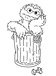 Small Picture Sesame Street Coloring Pages Is Very Fun ALLMADECINE Weddings