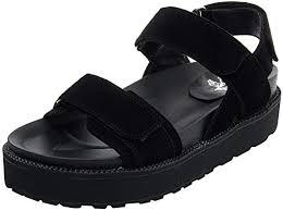ANUFER Womens Girls Fashion <b>Genuine Leather Velcro</b> Platform ...
