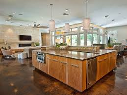 Living Dining Kitchen Room Design Kitchen Design Ideas Living Room And Kitchen Kitchen Design Ideas