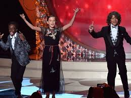 Geeky kids from 'Stranger Things' were the coolest at Emmys - CNET