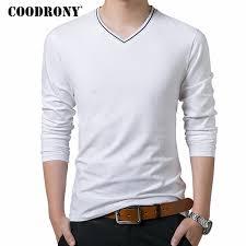 <b>COODRONY T Shirt Men</b> Brand Clothes 2018 Autumn New Arrival ...