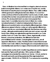 the babylonian code of hammurabi and the yuan code written by the    essay on the babylonian code of hammurabi and the yuan code written by the mongols are