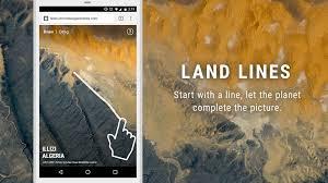 Land <b>Lines</b> - Chrome Experiments