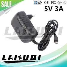 10pcs <b>5v 3a</b> Micro Usb Ac/dc Power <b>Adapter Eu Plug</b> Charger ...