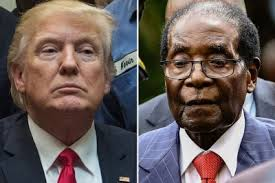 Image result for robert mugabe and donald trump