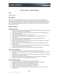 job description project manager construction professional resume job description project manager construction sample job description for a construction project manager project description template