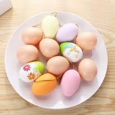 <b>20pcs</b>/<b>set</b> Cute Easter <b>Eggs</b> DIY Painting Colorful <b>Eggs</b> Handmade ...