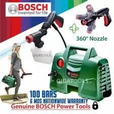 <b>New Bosch</b> Easy Aquatak 100 Pressure Washer & <b>Car Wash</b> Set ...