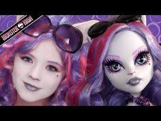 catrine demew monster high doll costume makeup tutorial for cosplay or kittiesmama