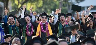 commencement graduates cheering