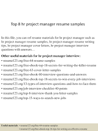 tophrprojectmanagerresumesamples lva app thumbnail jpg cb