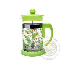 Купить кофейник <b>френч</b>-пресс Walmer Paisley <b>Green</b>, 0.6л, цвет ...
