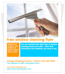 cleaning flyer templates by com window cleaning flyer