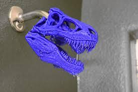 Dinosaur Bathroom T Rex <b>Shower Head Bathroom</b> Gifts Rainbow T ...
