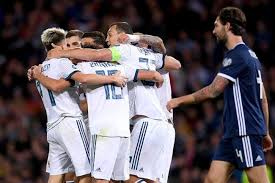 Россия - Шотландия - онлайн-трансляция отборочного матча ...
