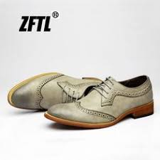 <b>ZFTL New Men dress</b> shoes Casual male Brock carved shoes men's ...