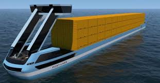 <b>Large</b> 'Tesla ships' all-electric container barges are launching this ...