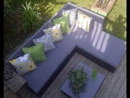 How to build a <b>pallet</b> sofa for the <b>garden</b> - YouTube
