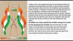 august independence day essay in english