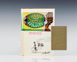 charlie and the chocolate factory roald dahl first edition signed rare charlie and the chocolate factory