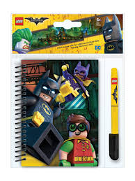 блокнот на спирали (100 листов, линейка), гелевая ручка <b>LEGO</b> ...
