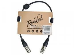 Купить <b>Кабель Rockdale XLR 30cm</b> MC001-30CM по низкой цене ...