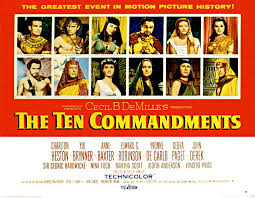 Image result for images of the 1956 ten commandments